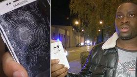 Muž, který přežil útok u stadionu: Střepinu zastavil můj mobil!