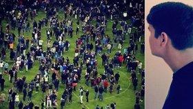 Na stadionu smrti byl i Lukáš z Prahy: Drželi nás tam v hrůze 4 hodiny!