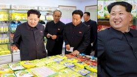 Jako děcko v cukrárně! Diktátor Kim Čong-un se rozplýval blahem u sladkostí