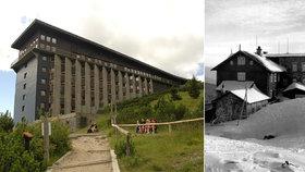 Za požár před 50 lety mohli dělníci: Labská bouda dnes slaví vzkříšení