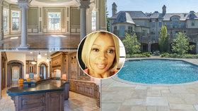 Slavná zpěvačka prodává luxusní sídlo: Za více než 100 milionů může být vaše