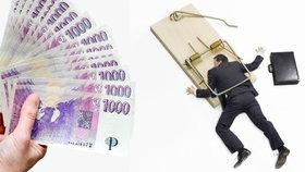 Šokující zjištění: Každý pátý dlužník si půjčuje pro někoho jiného!