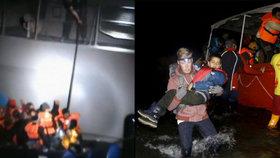 Turci o řecké pobřežní stráži: Propíchli člun uprchlíkům! Chtěli je zabít?