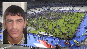 Bestie, která se odpálila u stadionu: Policie zveřejnila fotku z pasu uprchlíka