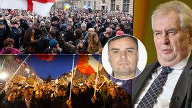 Miloš Zeman je ve válce, bohužel ne s teroristy. Policie musí zavřít celou zemi