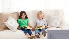 České děti neumí jíst příborem. U jídla sledují televizi a nemají čas ani na vidličku