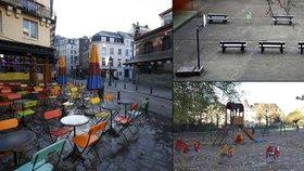 Z Bruselu se stalo město duchů: Ulice zejí prázdnotou a školy jsou zavřené