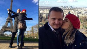 Čeští milenci u Eiffelovky. Klasnovou s Bártou teror od Paříže neodradil