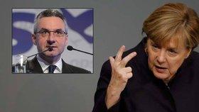 """""""Merkel je největším ohrožením Evropy."""" Zahradil drtil kancléřku za uprchlíky"""