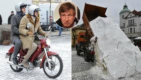 Co uniklo ze zákulisí Vánočního Kameňáku: Vydra vzal horám sníh!