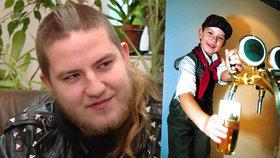 Nejmladší Šlapeťák Robert Papoušek (22) se tajně oženil! Manželka je punkerka!