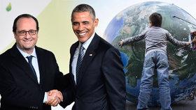 """""""V sázce je mír."""" Hollande zahájil summit o klimatu. Česko zastupuje Sobotka"""