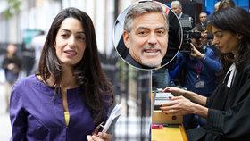 Clooneyho žena sundala zásnubní prsten: Proč už nechce na prstu šperk za 19 milionů?