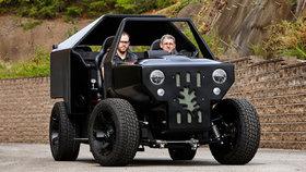 Babolap, na který sbalíte eko-divoženky: Auto vytisknuté v 3D tiskárně