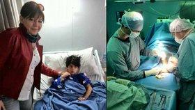 Zlaté české ručičky! Čeští doktoři zachránili chlapce v Jordánsku: Tamní lékaři si s ním nevěděli rady