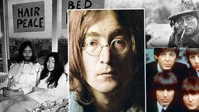 Před 35 lety zahynul John Lennon: Zpěvák prý na mír kašlal a chtěl jen prachy!