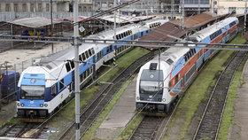 Příměstské vlaky kolem Prahy posílí: Pojedou častěji, po delší trase nebo přes noc