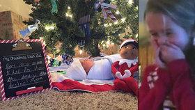 Nejdojemnější vánoční video? Sestřičky dostaly k Vánocům bratříčka a propukly v pláč