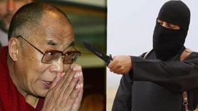 Hrdlořezové ISIS a dalajláma. Havlův přítel radí: Je třeba vést dialog