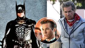 Filmový batman má díru v krku: Val Kilmer musel podstoupit chirurgický zákrok