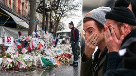 Tváře schovali do dlaní. Vrátili se před klub, kde ISIS postřílel jejich fanoušky
