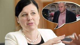 Ransdorf to schytal od eurokomisařky. Jourová: Jeho kauza škodí Česku