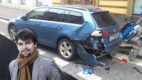 Syn Karla Vágnera přišel o auto! Nabourali ho, když zpíval
