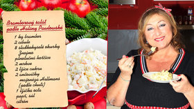 Bramborový salát podle celebrit: Rodinný recept Haliny Pawlowské