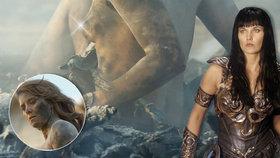 (Se)Xena odhalila ňadro! Lucy Lawless točí nahá v 47 letech