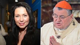 Kardinál Duka se přidal k Bobošíkové. Do organizace, co opustily lidické ženy