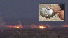 Rusové prý v Sýrii vraždí zakázanými bombami civilisty: Bombardují kazetovými pumami