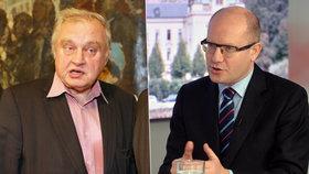 "Sobotka sepsul Ransdorfa: ""Ostuda. Měl reprezentovat, ne chodit do banky"""
