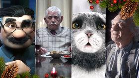 Nejlepší vánoční reklamy roku 2015: Dojemné snímky z celého světa vás doženou k slzám