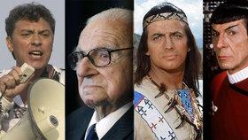 Odešli v roce 2015: 15 nejvýznamnějších osobností, které letos zemřely