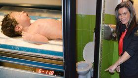 Servírka odrodila dítě na toaletě: Matka ho druhý den odkopla