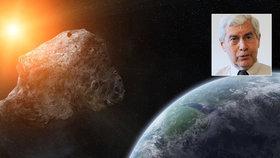 Astronom: Kdy lidstvo vyhladí asteroid? Přiletí-li od Slunce, varování nepřijde