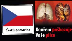 """Vláda rozhodla: """"České potraviny"""" budou muset být ryze české, cigarety děsivé"""