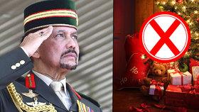 Sultán zakázal slavit Vánoce. Kdo příkaz poruší, půjde až na pět let sedět