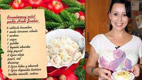 Vánoční recepty hvězd na poslední chvíli! Bramborový salát Heidi Janků, Pilarky a dalších!