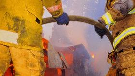 Ve Vícově hořel rodinný dům: Požár způsobil škodu 700 000 Kč