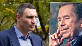 V Kyjevě chtějí Havla místo komunisty. Starosta a exboxer Kličko souhlasí