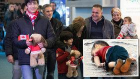 Rodina utopeného chlapce z pláže došla za lepším, začíná v Kanadě nový život