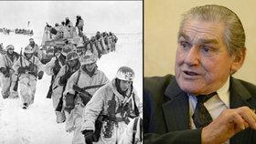 Proti nacistům válčil Čech za Sověty: Stáli jsme ve vodě a kropili nás kulomety