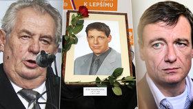 Grossova smrt, Rathův trest a úderný Zeman. Klíčové momenty roku 2015