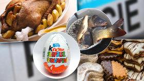Kuriózní sváteční krádeže: Zloději kradli cukroví, kapry, husu i Kinder vajíčka!