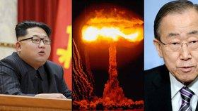 Atomový Kim rozzuřil svět. Na Severokorejce už se hrnou nové sankce