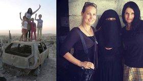 """""""Prý do Česka pašuju uprchlíky,"""" směje se matka tříleté dcery. A opět letí do Sýrie"""