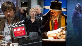 Brad Pitt, Jennifer Lawrence nebo krvák od Tarantina! Co nás dnes čeká v kinech?