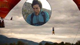 Adrenalinový šílenec zemřel při 30metrovém pádu z horkovzdušného balonu