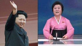 Diktátorova hlasatelka: Jediná žena, kterou Kim pověřil, aby v TV šířila propagandu